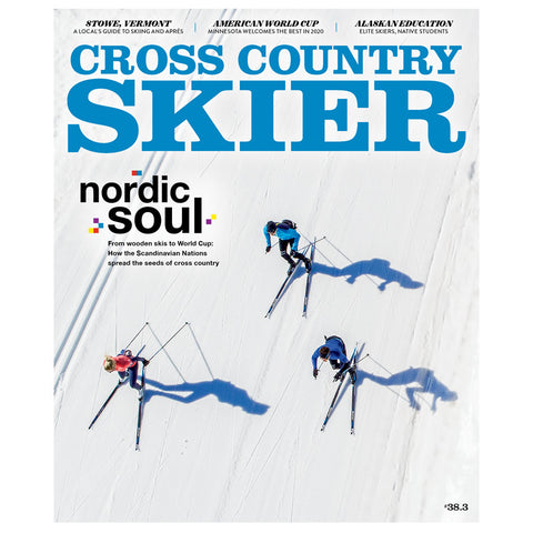 Cross Country Skier Spring 2019