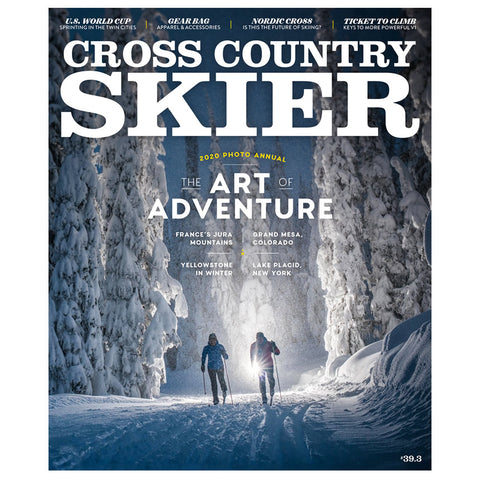 Cross Country Skier Midwinter 2020