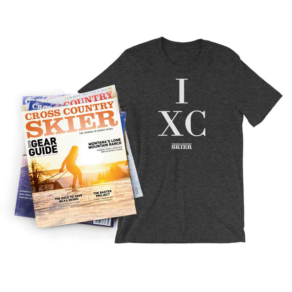 Cross Country Skier 6-issue Subscription & T-shirt
