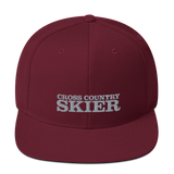Cross Country Skier Snapback Hat