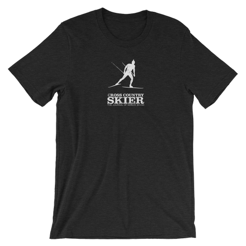 Cross Country Skier Silhouette T