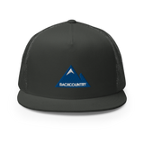 Backountry Embroidered Mountain Mesh Snapback