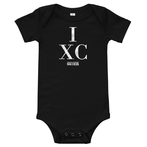 Cross Country Skier IXC Baby Onesie