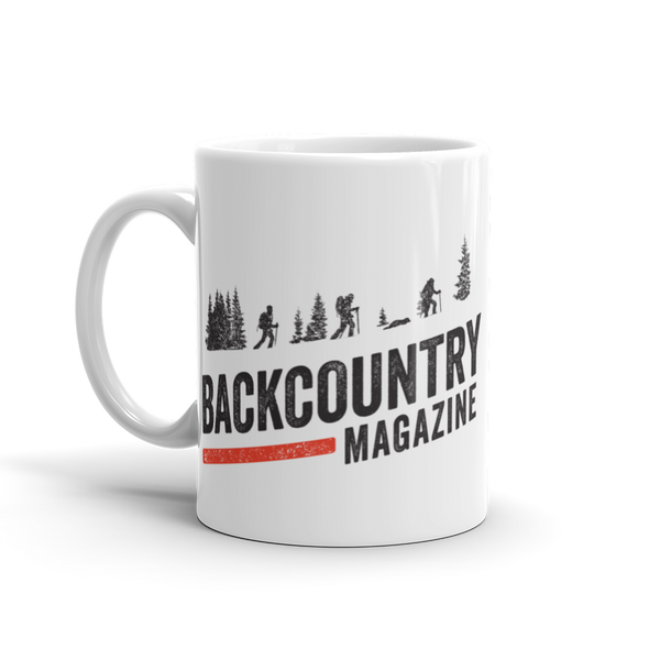 Backcountry Magazine Ceramic Mug