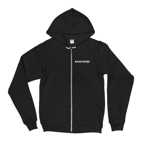 Backcountry Sunset Zip Fleece Hoodie