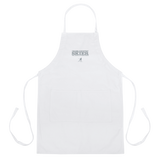 Cross Country Skier Embroidered Shop Apron