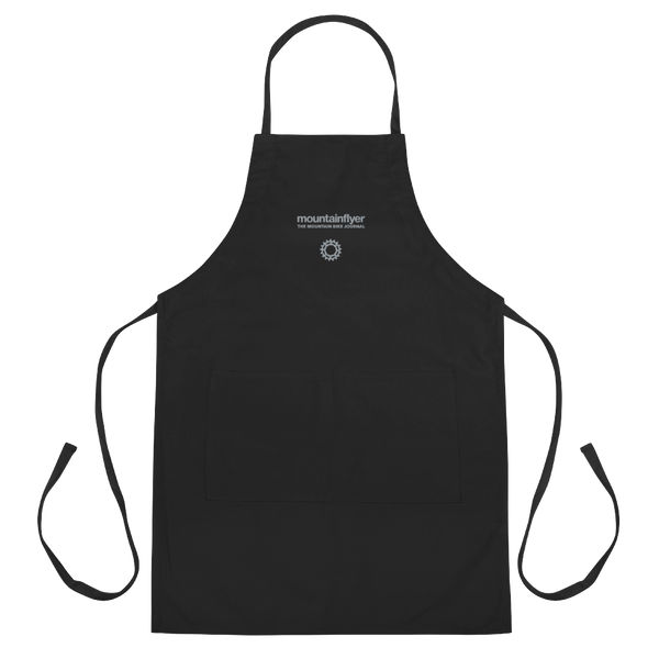 Mountain Flyer Embroidered Shop Apron