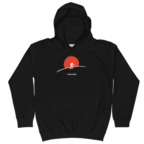 Backcountry Sunset Kids Hoodie
