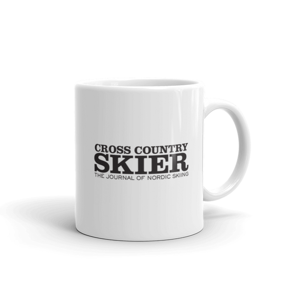 Cross Country Skier Sunset Mug