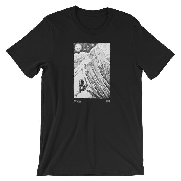Alpinist Leighan Falley Artwork T