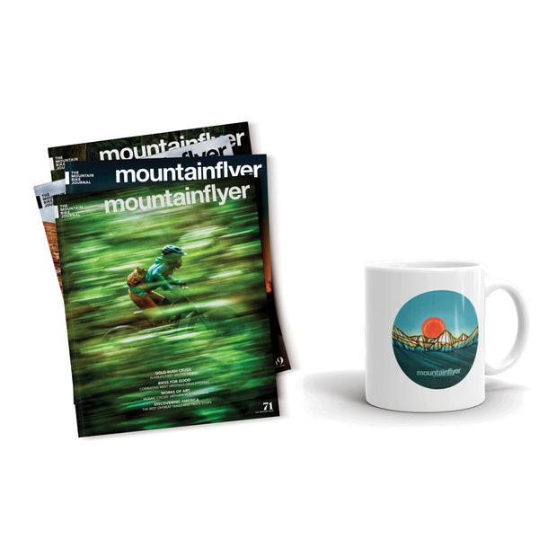 Mountain Flyer Gift Subscription & Mug
