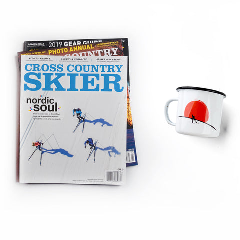 Cross Country Skier Subscription & Camp Mug