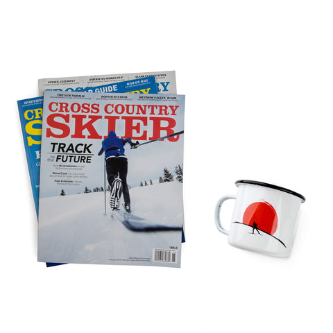 Cross Country Skier Gift Subscription & Camp Mug