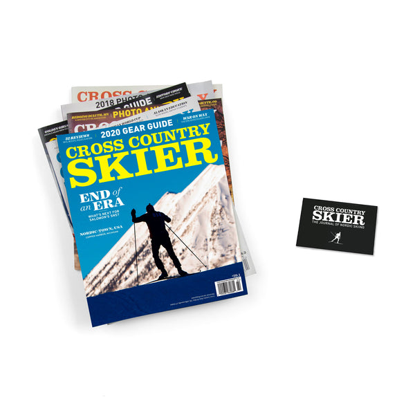 Cross Country Skier Magazine Subscription (Includes a free wax scraper)