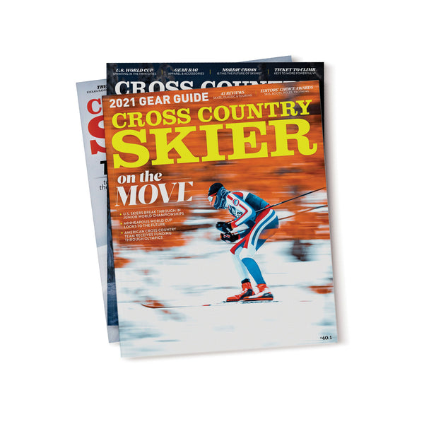 Cross Country Skier Magazine 3-issue Subscription