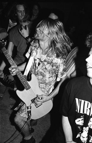 Nirvana, Amherst, Mass, Kurt in a Dress, In the audience