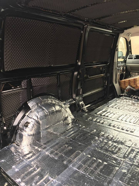 Project Alpine Audio Van – Sound Deadening Shop