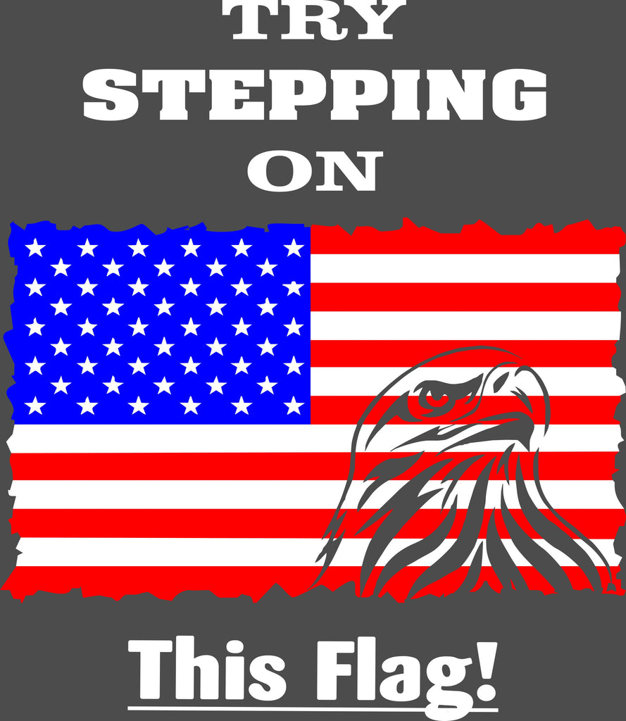 Try stepping on this Flag