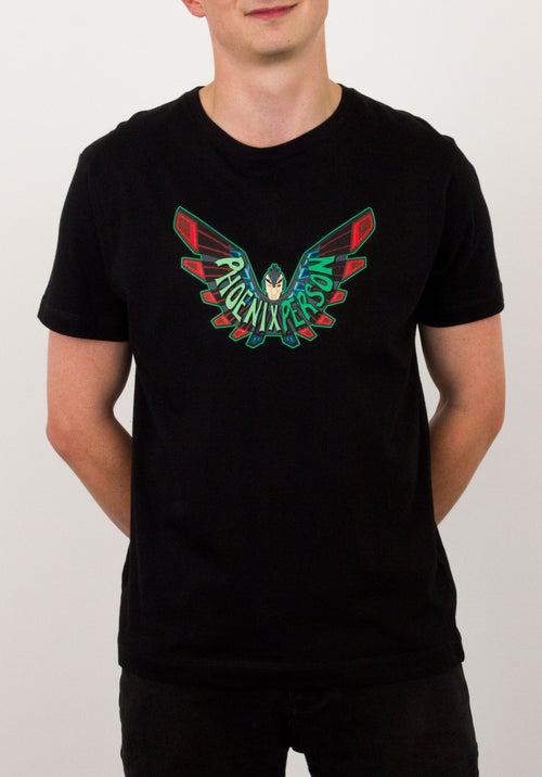 Phoenix Person T-Shirt by Ian Norris