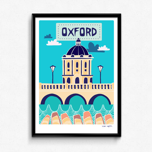 Oxford Print by Lisa Curtis