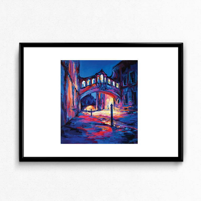 Bridge of Sighs Print by Andrew Manson