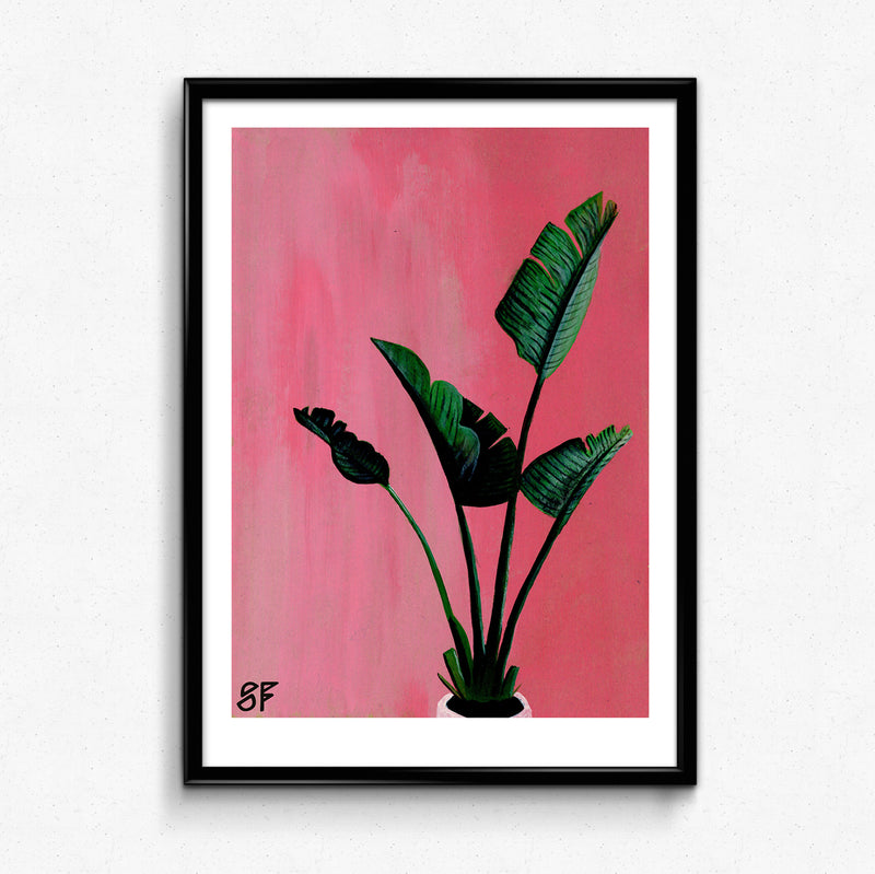 Plant Print by Scott Fynn