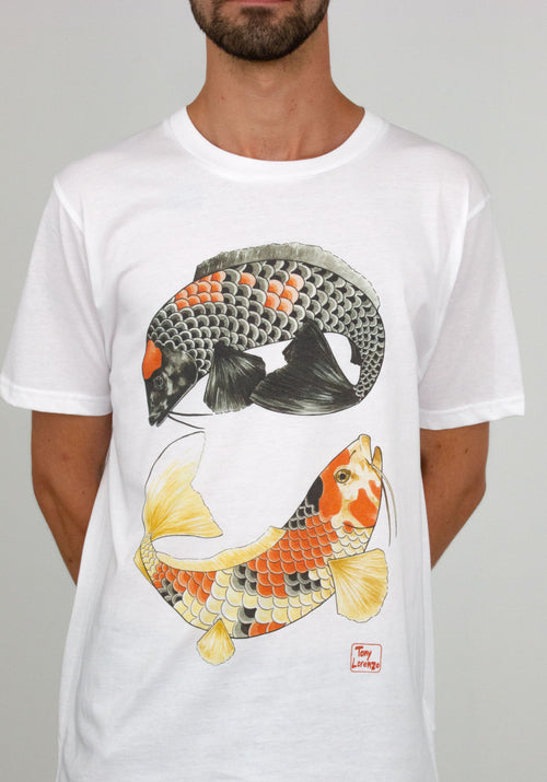 Koi T-Shirt by Tony Lorenzo