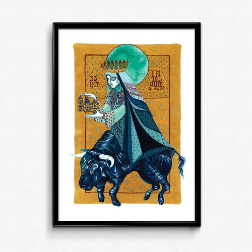 St Frideswide Print by Chelsea Brown