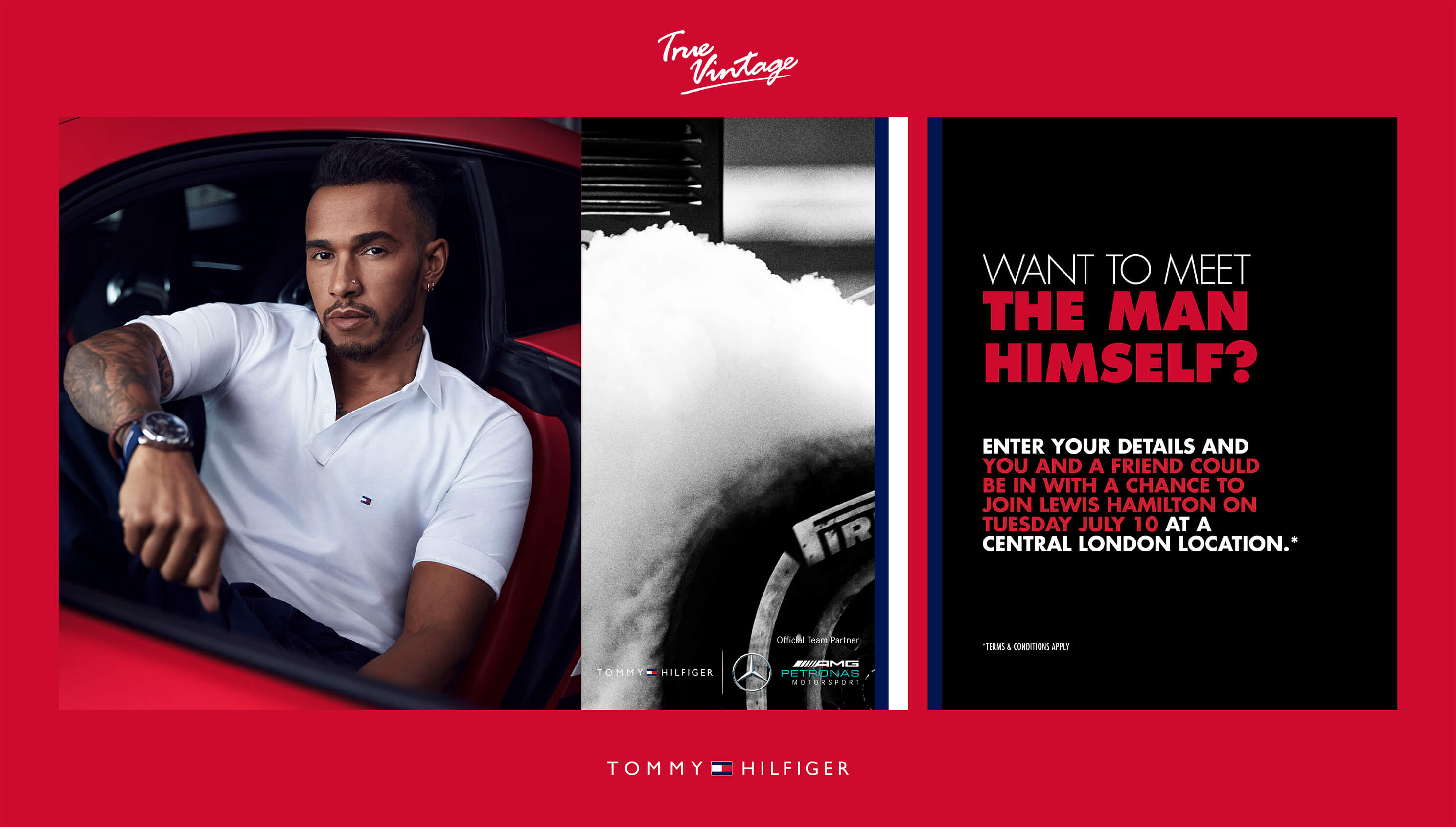 Win A Pair Of Tickets To A Lewis Hamilton Personal Appearance