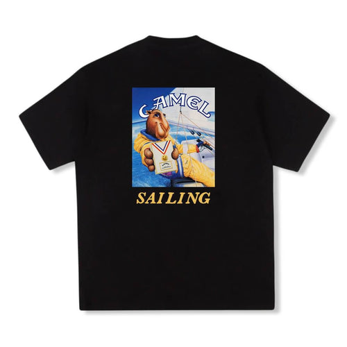 Camel Sailing T-shirt Black
