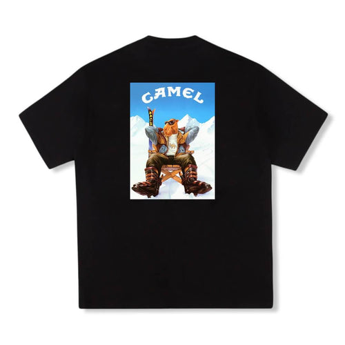 Camel Ski T-Shirt Black