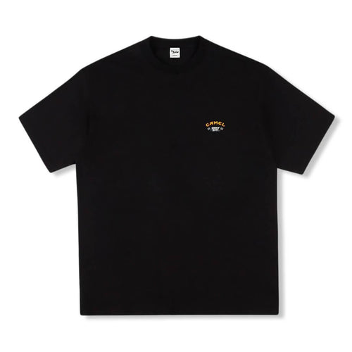 Camel Racing T-Shirt Schwarz