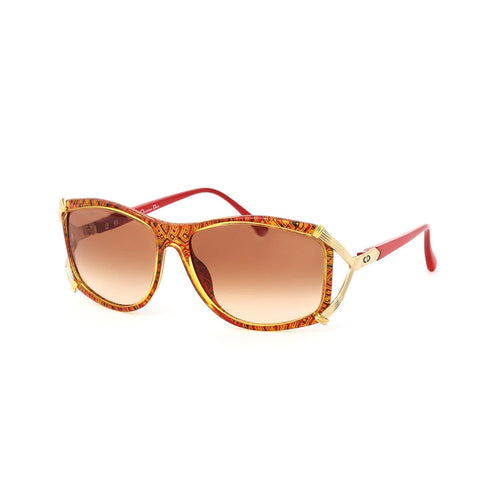 Christian Dior Sunglasses Red/Gold/Gradient Red Deadstock