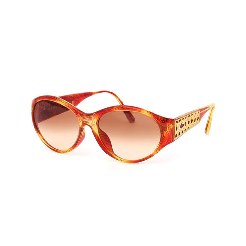 Christian Dior Sunglasses Red/Gold Deadstock
