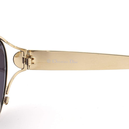 Christian Dior Sunglasses Rose Gold/Black Deadstock