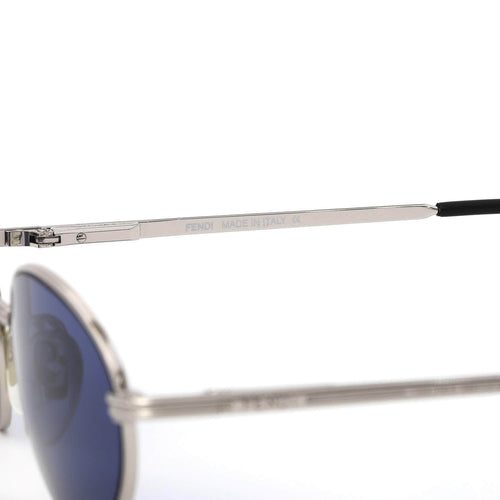 Fendi Sunglasses Silver/Blue Deadstock