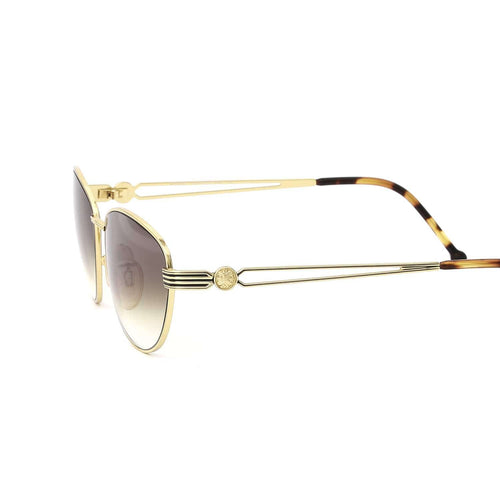 Fendi Sunglasses Gold/Smoked Champagne Deadstock