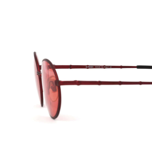Fendi Sunglasses Red/Red Deadstock