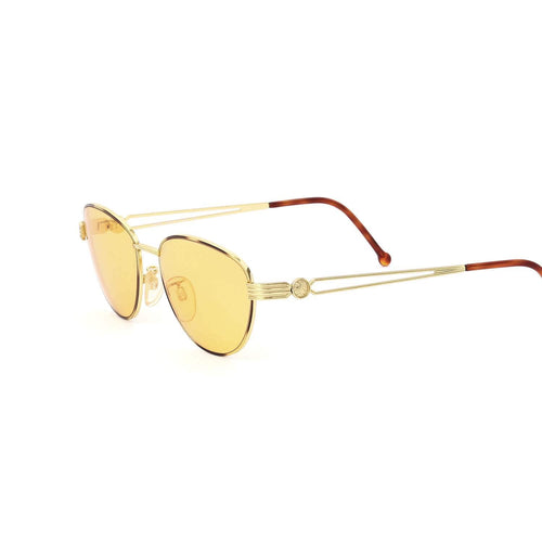 Fendi Sunglasses Gold/Black/Yellow Deadstock