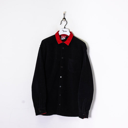 Marlboro Over Shirt Black Large