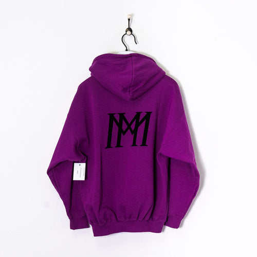 Adidas Hoodie Purple Medium