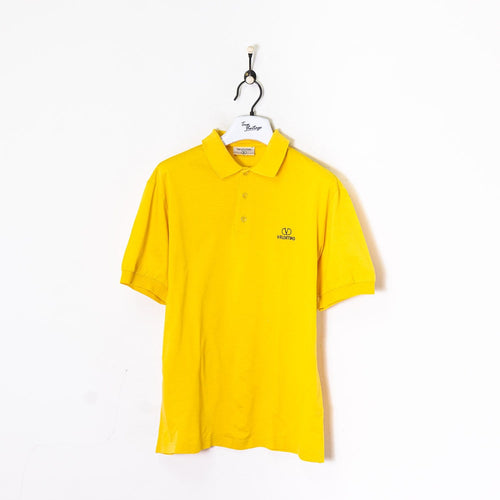 Valentino Polo Shirt Yellow Large
