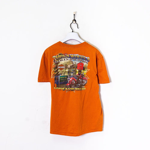 Harley Davidson Ohio T-Shirt Orange Medium