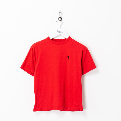 Champion T-shirt Red Small