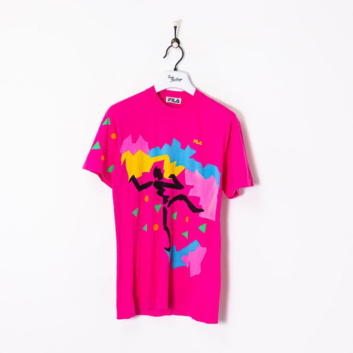 Fila T-Shirt Pink Medium