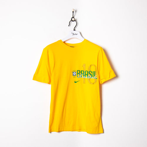 Kappa Knitted 1/4 Zip Sweatshirt Brown Small