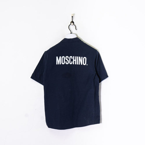 Moschino S/S Shirt Navy/White Women's XS
