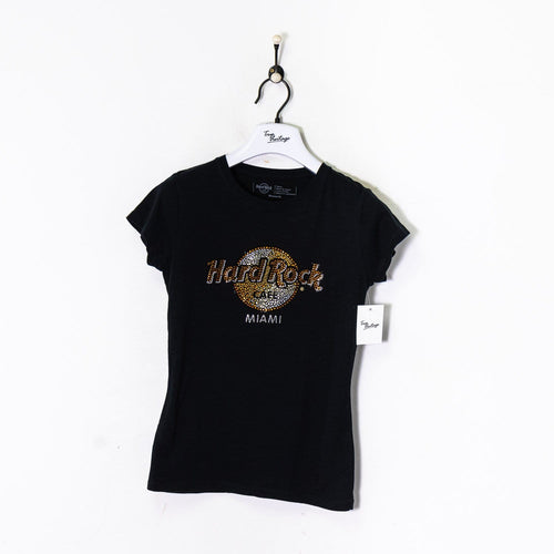 Hard Rock Cafe Miami T-Shirt Black Women's XS