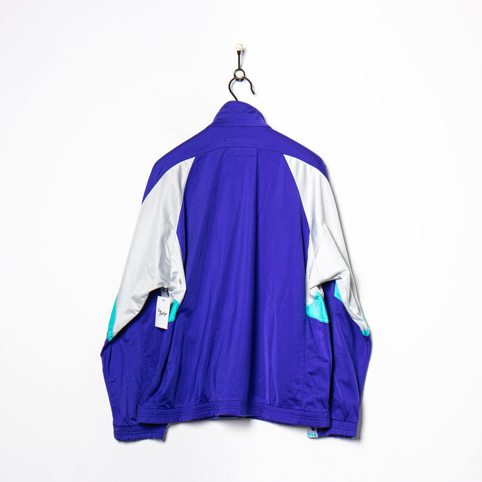 Adidas Shell Suit Jacket Navy XS