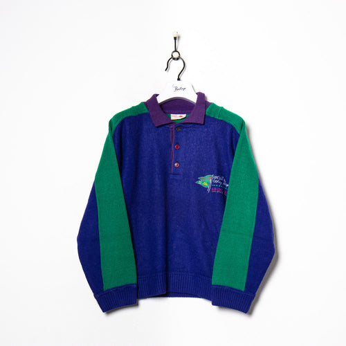 Tommy Hilfiger Zip Hoodie Red/Navy/Grey Women's XS